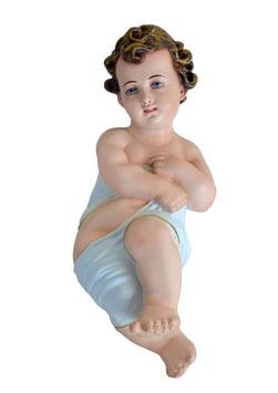 Statua Gesù Bambino in fasce cm. 30