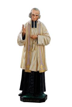 Statua San Curato d' Ars cm. 125 in vetroresina