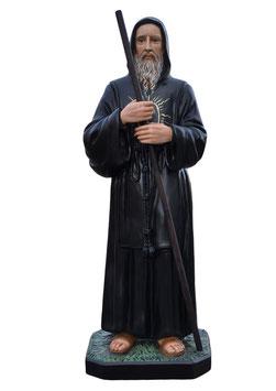 Statua San Francesco di Paola cm. 130 in vetroresina
