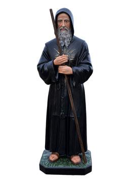 Statua San Francesco di Paola cm. 110 in vetroresina