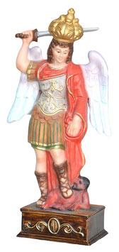 Statua San Michele cm. 30