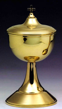 Pisside in argento dorato mod. 12052