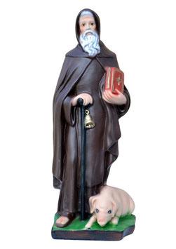 Statua Sant ' Antonio Abate cm. 32