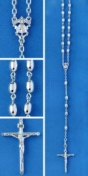 Rosario in argento mod. 315