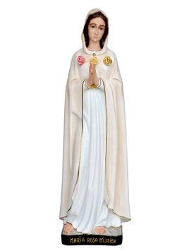 Statua Maria Rosa Mistica in resina cm. 95