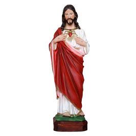 Statua Sacro Cuore di Gesù cm. 30