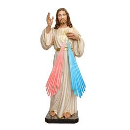 Statua Gesù Misericordioso cm. 100 in resina
