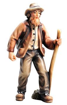 Statua contadino in legno