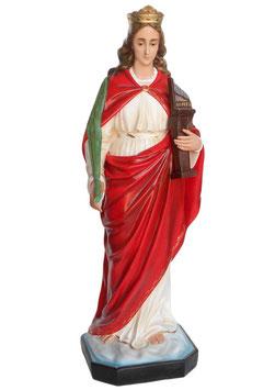 Statua Santa Cecilia cm. 130 in vetroresina