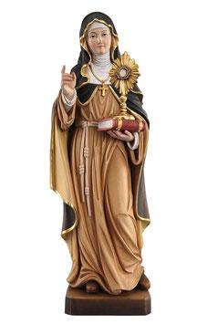 Statua Santa Chiara in legno