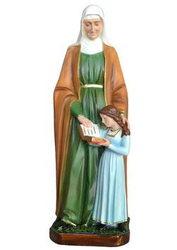 Statua Sant ' Anna cm. 60 in resina