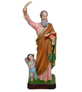 Statua San Matteo Evangelista cm. 40