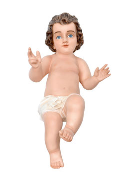 Statua Gesù Bambino tipo M cm. 50