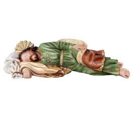 Statua San Giuseppe dormiente cm 30