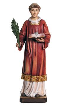 Statua Santo Stefano in legno
