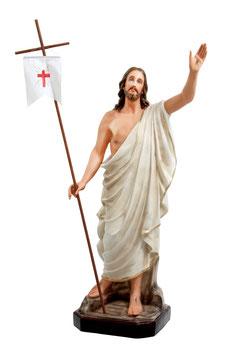 Statua Gesù risorto cm. 130 in vetroresina