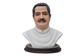 Statua San Giuseppe  Moscati cm. 35 in resina - busto