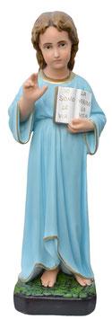 Statua Santissimo nome di Gesù cm. 60 in resina