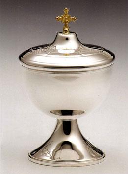 Pisside bassa in argento mod. 12101