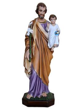 Statua San Giuseppe cm. 85 in vetroresina