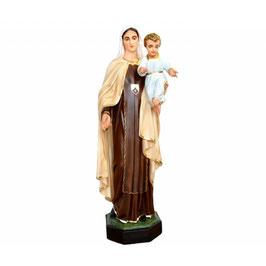 Statua Madonna del Carmine in resina cm. 100