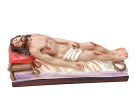 Statua Gesù Morto cm. 27 in resina
