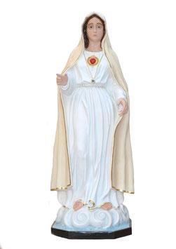 Statua Madonna di Fatima II apparizione in vetroresina cm. 180