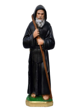 Statua San Francesco di Paola cm. 22 in resina