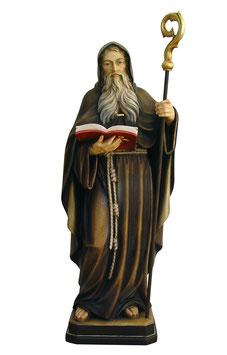 Statua San Benedetto in legno