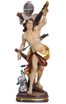 Statua San Sebastiano in legno