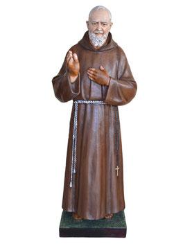 Statua San Padre Pio da Pietrelcina cm. 180 in vetroresina