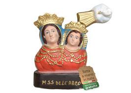 Statua Madonna dell' Arco - busto cm. 20 in resina