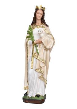 Statua Sant' Agnese cm. 60