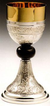 Calice in argento e nodo in onice mod. 12071P