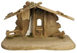 Capanna in legno per presepe mod. 027