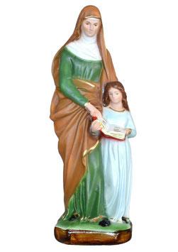 Statua Sant ' Anna cm. 25 in resina