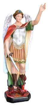 Statua San Michele cm. 60