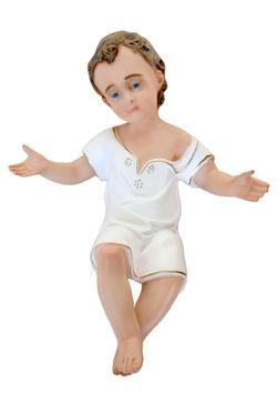 Statua Gesù Bambino braccia aperte cm. 40