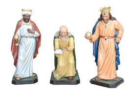 Statue Gruppo 3 Re Magi in resina per Natività cm. 100