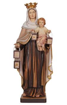 Statua Madonna del Carmine in legno
