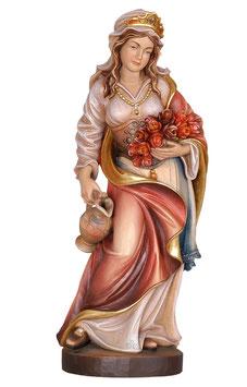 Statua Santa Elisabetta in legno
