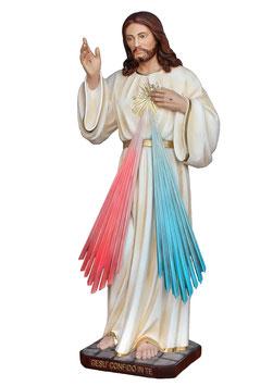 Statua Gesù Misericordioso cm. 80 in resina