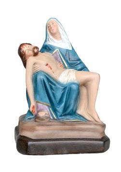 Statua Pietà in resina cm. 25