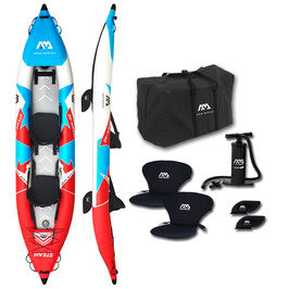 STEAM  ST-412 AQUA MARINA Drop-Stitch-Floor Reinforced AirKayak