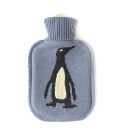 Kaschmir Wärmflasche PINGUIN • dove