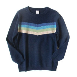 Pullover RAINBOW • boys navy