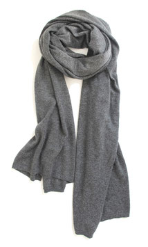 Schal 'HUG ME' • dark grey