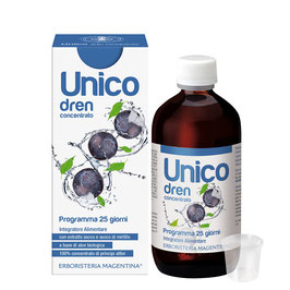 UNICO DREN CONCENTRATO - GUSTO MIRTILLO