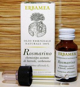 OLIO ESSENZIALE - ROSMARINO CHEMIOTIPO ACETATO DI BORNILE VERBENONE