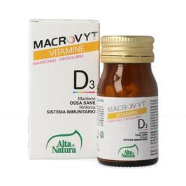 MACROVYT - VITAMINA D3 - 60 COMPRESSE